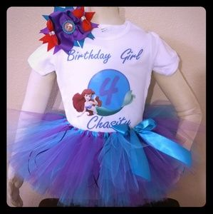 Other - Little Mermaid tutu outfit